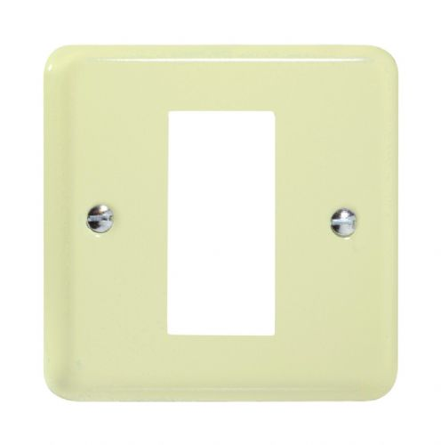 Varilight XYG1.WC Lily Pastel White Chocolate DataGrid Plate (1 DataGrid Space)